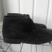Зимнии ботинки натуральный мех,замш Испания