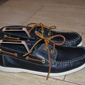 Camargue 45р мокасины топсайдеры туфли кожаные.