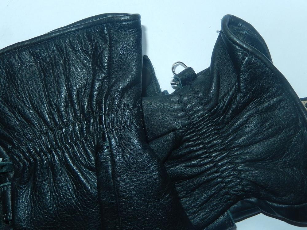 Кожаные спортивные перчатки р-р 6, подросток или маленькая взрослая рука,сток фото №11