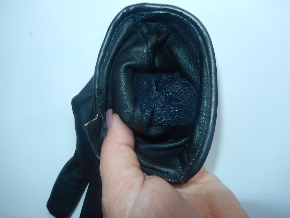 Кожаные спортивные перчатки р-р 6, подросток или маленькая взрослая рука,сток фото №12