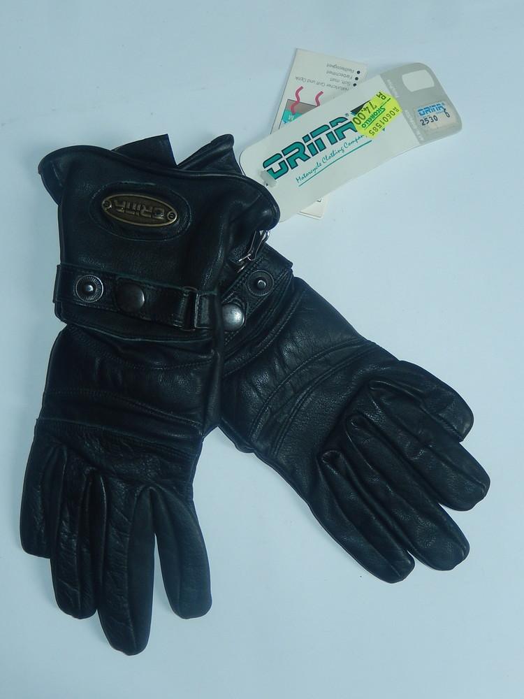 Кожаные спортивные перчатки р-р 6, подросток или маленькая взрослая рука,сток фото №1