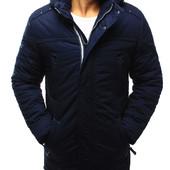 Мужская зимняя теплая куртка