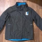 всесезонная термо-куртка, на 9-10 лет, р.134-140