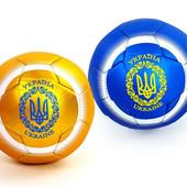 Мяч футбольный №2 сувенирный Украина 4096-U2