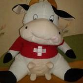 Большая мягкая игрушка Корова. Высота 58 см.
