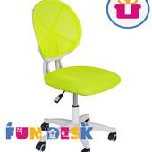 Бесплатная доставка Детское кресло для подростка, школьника Fundesk LST1 green