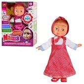 Интерактивная кукла Мм 4615 «Маша и Мишка» сенсорная