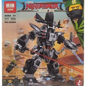 конструктор lepin 06060 ninjago movie робот гарм (аналог lego ninjago 70613)