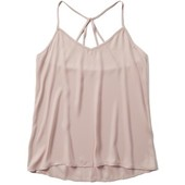 очень нежная майка блуза пудрово розового цвета от Abercrombie  & Fitch,p.M
