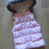 Теплая жилетка (3-4 года)