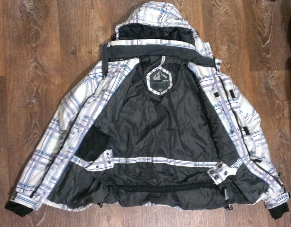 Качественная лыжная (8.000мм) термо-куртка, р.48 фото №2