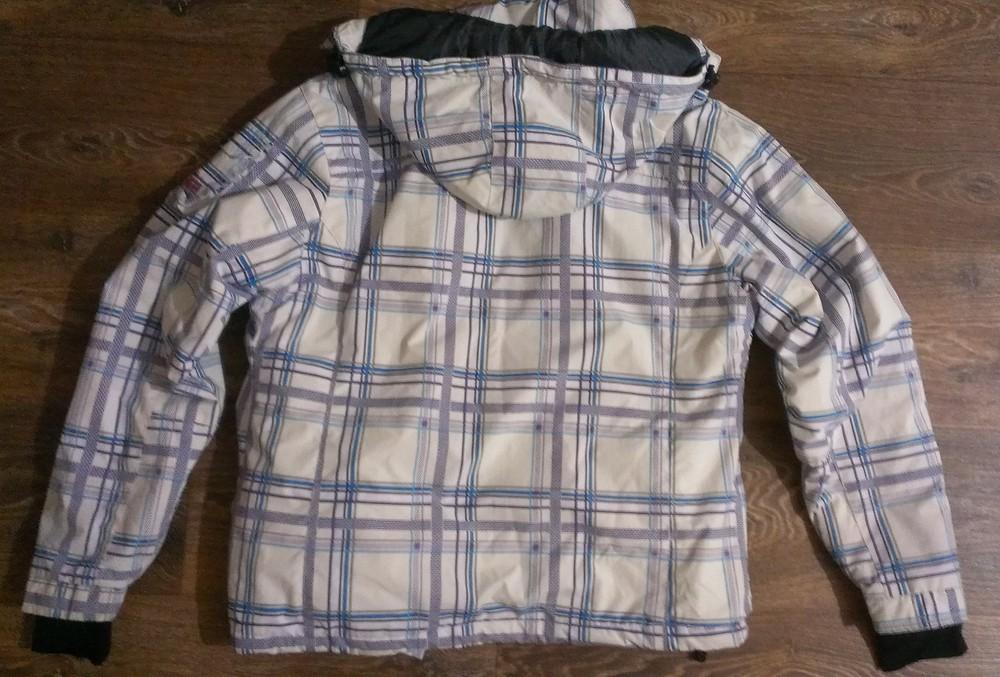 Качественная лыжная (8.000мм) термо-куртка, р.48 фото №3