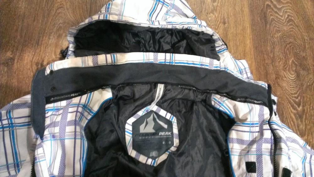 Качественная лыжная (8.000мм) термо-куртка, р.48 фото №5