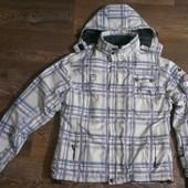 качественная лыжная (8.000мм) термо-куртка, р.48