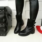 ботинки зимние густой мех