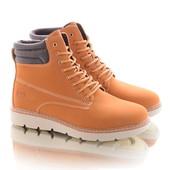 Стильные женские зимние ботинки в стиле Timberland