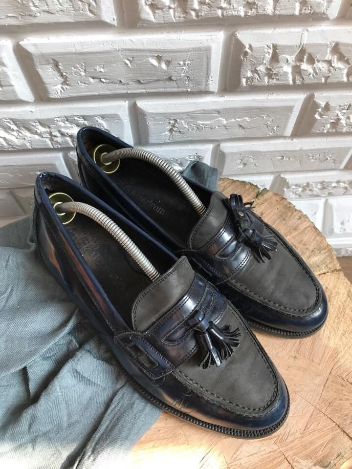 Мужские туфли-лоферы, кожа,р-р 42,5 фото №2