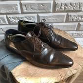 Кожаные мужские туфли броги Dune рр 44