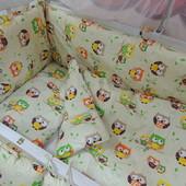 Детское постельное белье в кроватку Bonna 9 в 1