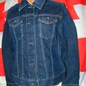 Брендовая стильная джинсовая курточка пиджак Gap м-л .