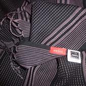 элегантный стильный шарф 50% шерсть+50% хлопок