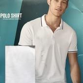 Шикарная мужская футболка Поло M 48-50 евро Livergy Германия