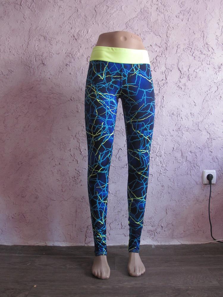 Лосины женские абстракция м/дайвинг для спорта йоги танцев и фитнеса. много расцветок фото №14