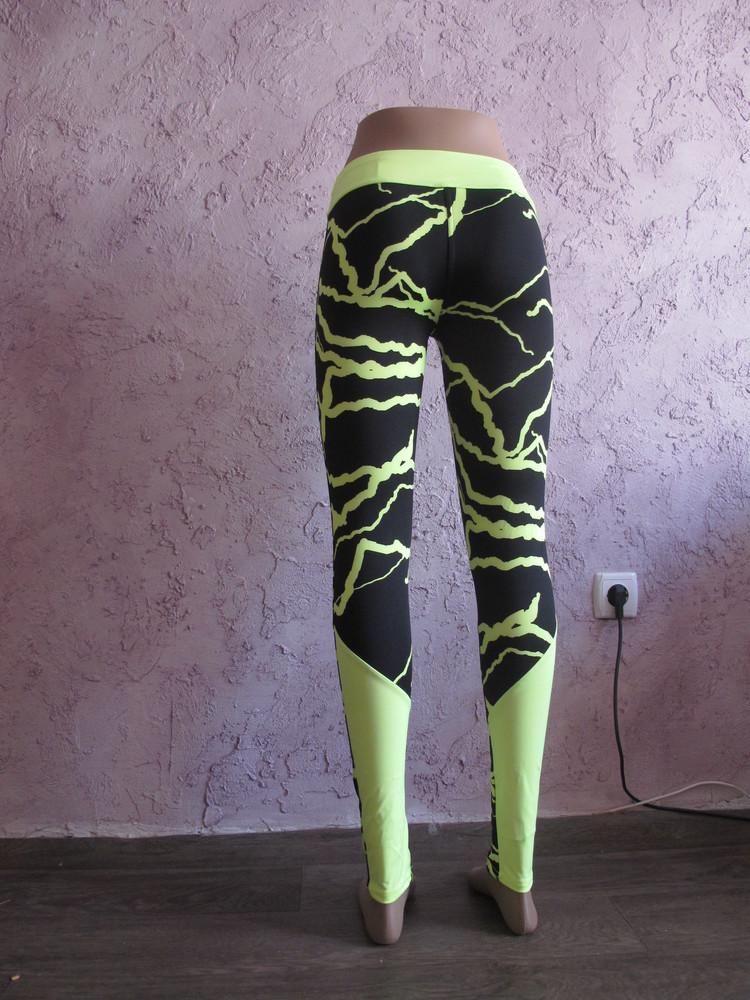 Лосины женские абстракция м/дайвинг для спорта йоги танцев и фитнеса. много расцветок фото №17