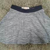 классная юбка солнце-клеш из плотного трикотажа от New Look на 9 лет