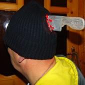 Прикольная стильная шапка бренд Tesco 56-58