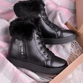 Короткие ботинки 16718 разные модели