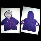 Стильная Деми куртка на новорожденную