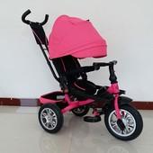 Велосипед- коляска Турбо 3646А с поворотным сидением Turbo Trike. Надувные колеса