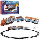 Железные дороги Голубой вагон с музыкой, светом и дымом.