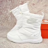Зимние женские cапоги Nike white