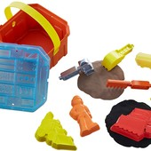 Fisher-Price Боб строитель инструменты с кинетическим песком bob the builder, mash mold builder box
