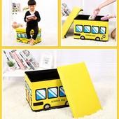 Пуф Короб складной, ящик для игрушек разные