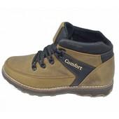 Ботинки мужские зимние на меху Comfort Style NQ116