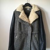 Шерстяне пальто Pimkie розмір S