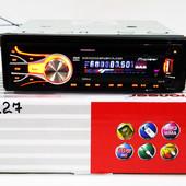 Dvd автомагнитола pioneer 3227 usb, sd, mmc съемная панель