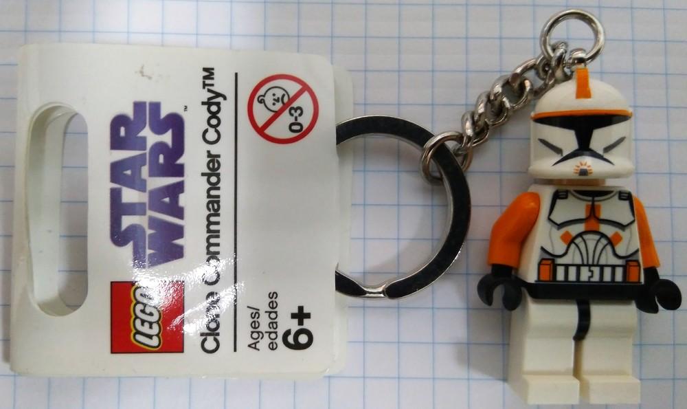 Lego Star Wars Брелок Командир Коди 852355 фото №1