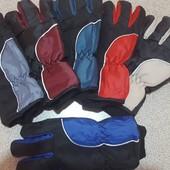 Мужские перчатки на флисе!
