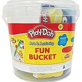 Play-Doh Small Fun Bucket набор пластилин карандаши