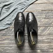 Натуральные туфли броги Samuel Winsdor р-р 41-42
