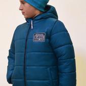 Зимняя куртка на мальчика на рост 98-140. 4 цвета. Украина