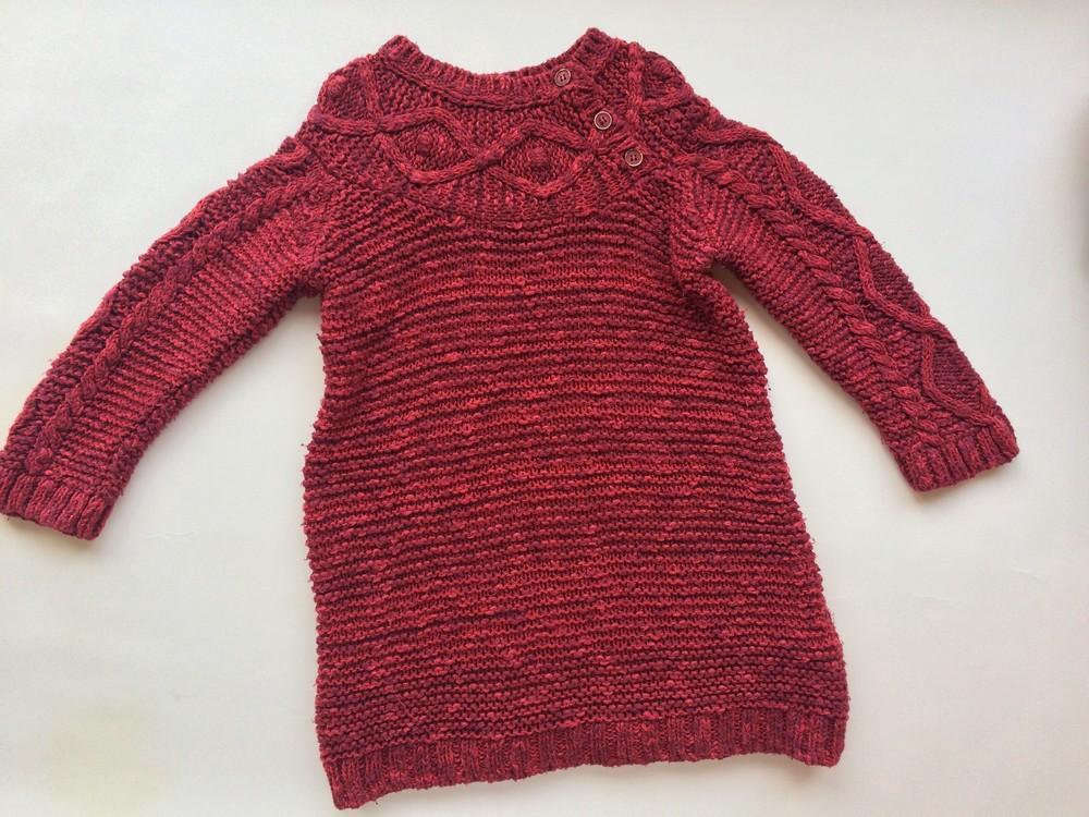 834e460b896 2-3 г вязаное платье zara б у фото №1