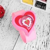 Детские силиконовые часы 100-29 Сердце