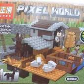 "Конструктор типа Лего ""Minecraft"" ZB 362, 328 детали"
