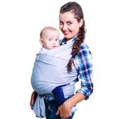 Слинг-шарф. Для новорожденных слинг - шарф. От рождения до года