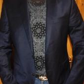 Брендовий новий стильний нарядний пиджак Benvenuto л .